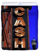 The Johnny Cash Museum - Nashville Duvet Cover