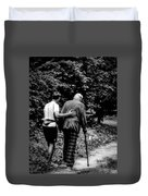 The Journey Bw Duvet Cover