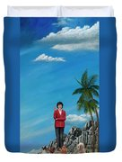 The Journey Of A Dog Trainer Duvet Cover