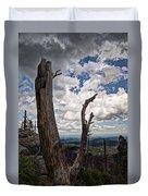The Journey To Harney Peak Duvet Cover