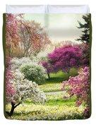 The Joy Of Spring Duvet Cover