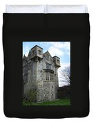 The Keep At Donegal Castle Ireland Duvet Cover