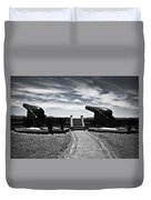 The Keepers Of Peace Duvet Cover