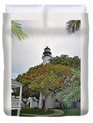 The Key West Lighthouse Duvet Cover