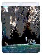 The Keyhole Mexico Cabo San Lucas Duvet Cover