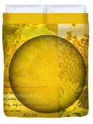The Kingdom Of God Is Like A Mustard Seed Duvet Cover