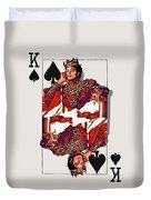 The Kings - Michael Jackson Duvet Cover