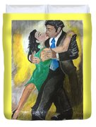 The Kiss Of Passion Duvet Cover