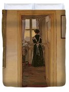 The Kitchen Duvet Cover by Harold Gilman