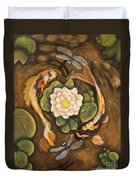 The Koi Duvet Cover