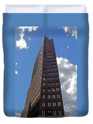 The Kollhoff-tower ...  Duvet Cover