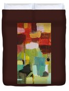 The Ladder Of Life Duvet Cover