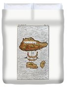 The Ladrone Islands Duvet Cover