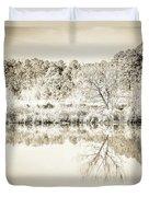 The Lake #47 Duvet Cover