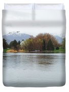 The Lake View  Duvet Cover