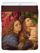 The Lamentation Of Christ Duvet Cover by Capponi