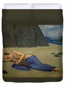 The Lamentation Of Orpheus Duvet Cover