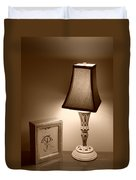 The Lamp Duvet Cover