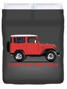 The Land Cruiser Fj40 Duvet Cover