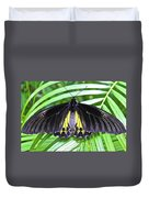 The Largest Butterfly In The World Duvet Cover