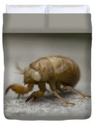 The Larval Stage Of A Locust Duvet Cover