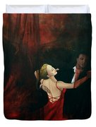 The Last Dance Duvet Cover by Dorina  Costras