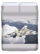 The Last Flight Of The Vulcan Duvet Cover