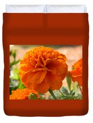 The Last Marigold Duvet Cover