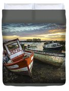 The Last Of A Dying Breed Trocadero Pipe Cadiz Spain Duvet Cover