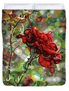 The Last Rose Of Summer Duvet Cover