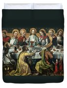 The Last Supper Duvet Cover by Godefroy
