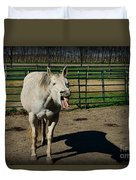 The Laughing Horse Duvet Cover
