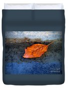The Leaf On The Stairs Duvet Cover
