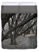 The Leaning Boughs Duvet Cover