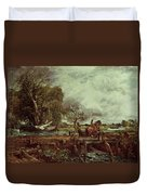 The Leaping Horse Duvet Cover
