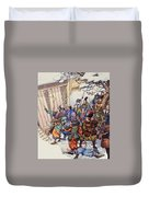 The Legend Of The Forty-seven Ronin Duvet Cover