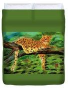 The Leopard Duvet Cover