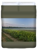 The Less Traveled Path Duvet Cover