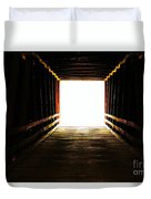 The Light At The End Duvet Cover