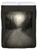 The Light At The End Of The Road Duvet Cover