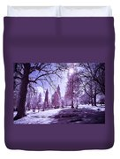 The Light Of River View Duvet Cover
