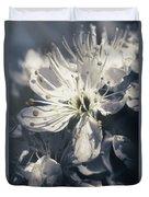 The Light Of Spring Petals Duvet Cover