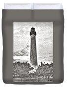 The Lighthouse At Cape May Duvet Cover
