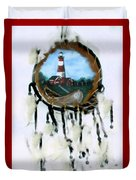 The Assateague Lighthouse Duvet Cover