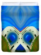 The Lighthouse Racetrack Duvet Cover