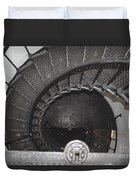 The Lighthouse Stairs Duvet Cover