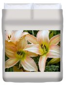 The Lillies Have It Duvet Cover