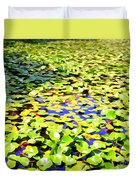 The Lily Pond #2 Duvet Cover
