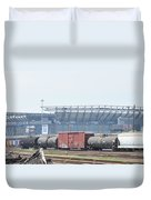The Linc From The Other Side Of The Tracks Duvet Cover