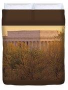 The Lincoln Memorial, Seen Duvet Cover